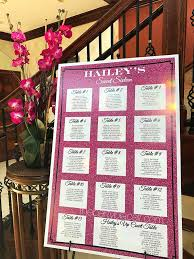 bat mitzvah sign in boards party signs and boards the party place li the party specialists