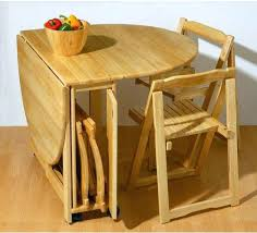 foldable dining table and chairs folding dining room chairs table attached to wall kitchen best of