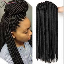pictures of soft dred crotchet hairstyles new style synthetic hair extensions 14 18 soft dread lock hair
