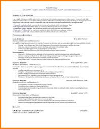 Human Resource Entry Level Resume 10 Entry Level Resume Objective Examples Precis Format