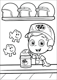 Bubble Guppies Colouring Pages Free Coloring Kids Printable Page Free Colouring Pages
