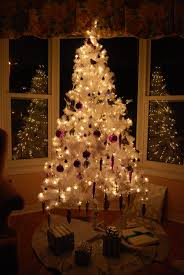 fabulous white tree outdoor with ledwhite