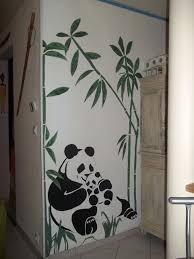 dessin mural chambre couleur vanille