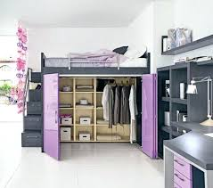 girls loft bed with a desk and vanity girls loft bed with desk contemporary small bedroom ideas girls loft