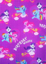 my pony christmas wrapping paper my pony purple wrapping paper gift wrap for birthday