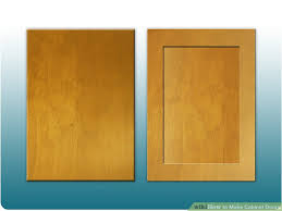 how to build a wood cabinet with doors how to make cabinet doors 9 steps with pictures wikihow