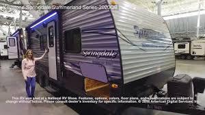 Springdale Rv Floor Plans Keystone Springdale Summerland Series 2020qb Youtube