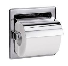 toilet paper dispenser recessed hinged hood toilet tissue dispenser bradley corporation