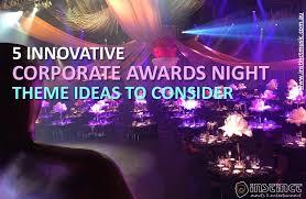 innovative corporate awards theme ideas