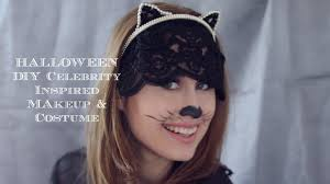 diy fashion halloween cat costume pia mia makeup grwm cruelty
