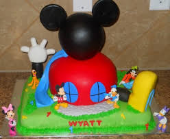 mickey mouse clubhouse birthday cake ideas beautiful house photo