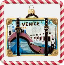venice glass handcrafted suitcase ornament popupvenice