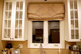 Roman Shade Decorating Ideas With Kitchen Roman Shade Patterned Roman Shades