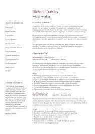 Resumes Sample 14 Best Social Worker Resume Sample Templates Wisestep