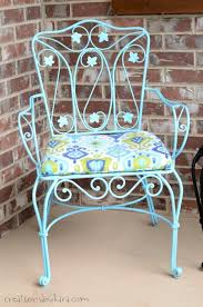 Paint For Metal Patio Furniture How To Transform Rusty Metal Patio Furniture