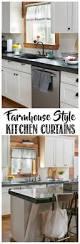 farmhouse kitchen curtains creative cain cabin