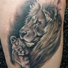 the art of joe king lions tattoo joe king pinterest lions