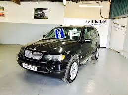 Bmw X5 Diesel - bmw x5 3 0d sport diesel automatic 2002 plate black 12 months