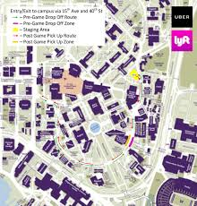 Osu Parking Map Husky Gameday Washington