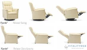 fjords ergonomic swing recliner zero gravity relaxor chair