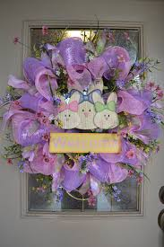 how to make easter wreaths kristen s creations easter mesh wreath tutorial 2012
