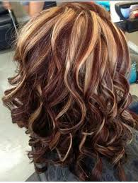idears for brown hair with blond highlights love the colors the curls hair pinterest hair coloring
