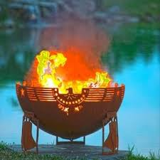 Custom Metal Fire Pits by Melissa Crisp The Fire Pit Gallery Bristolville Oh