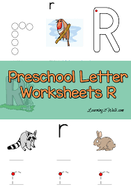 letter m preschool worksheets
