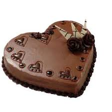 heart shaped chocolate 1kg heart shaped chocolate cake deepak florist