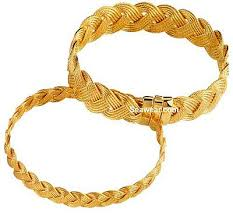 gold braided rope necklace images Turks head jewelry jpg