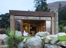 Small Minimalist House Small Minimalist Modern Design Natural Materials Design With Stone