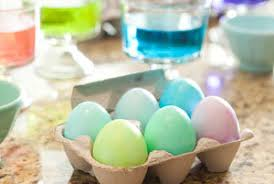 easter dying eggs how to dye easter eggs real simple