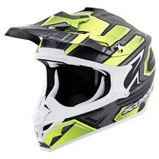 ebay motocross helmets scorpion exo vx 35 motocross helmet xl finnex black silver ebay