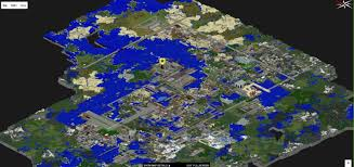 Minecraft City Maps Map Of A Big City Download For Minecraft карты