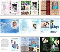 funeral programs aiea copy center funeral thank you cards programs