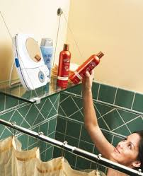 Ideas Small Bathrooms 7 Ingenious Shower Storage Ideas Small Room Ideas Cool Gadgets