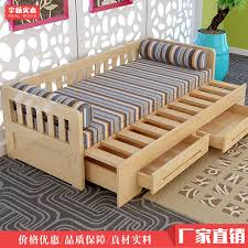 Ikea Folding Bed Cheap Wholesale Customized Ikea New Wood Sofa Bed Small Apartment