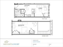 open floor plans with loft modern loft apartment floor plans