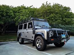 land rover metallic land rover defender all wrapped up with satin grey metallic and