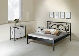 fer forgé chambre coucher table de nuit granada verre lits romantiques iron