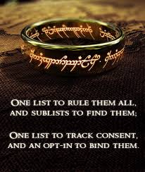 One Ring To Rule Them All Meme - one list to rule them all casl edition canada s leading seo