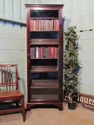 Narrow Mahogany Bookcase Antique Regency Narrow Mahogany Bookcase C1800 W6314 23 1