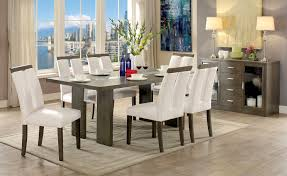 Casual Dining Room Tables by Luminar I Table Cm3559gy T Furniture Of America Casual Dining Sets