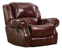 Rocker Recliner Swivel Chairs by Corinthian Alexander Alexander Leather Recliner Great American