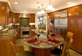 kitchen elegant island table combination in and combo ideas 8 best