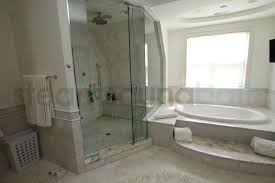 Bathroom With Shower And Bath Side By Side Steam Shower And Bathtub Photo Gallery And Image