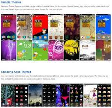 themes samsung wave 723 samsung wave theme designer disponible pour bada os test mobile fr
