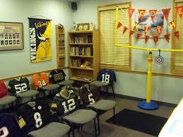 themed office decor office football theme week all the rage decor