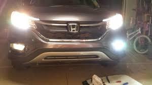 2016 honda crv fog lights 2015 cr v touring led fog light installed