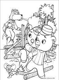 pigs 7 pigs printable coloring pages